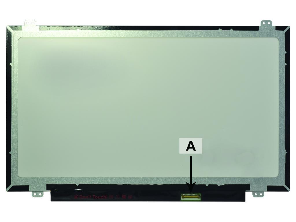 Laptop scherm 00C8WJ 14.0 inch LED Mat