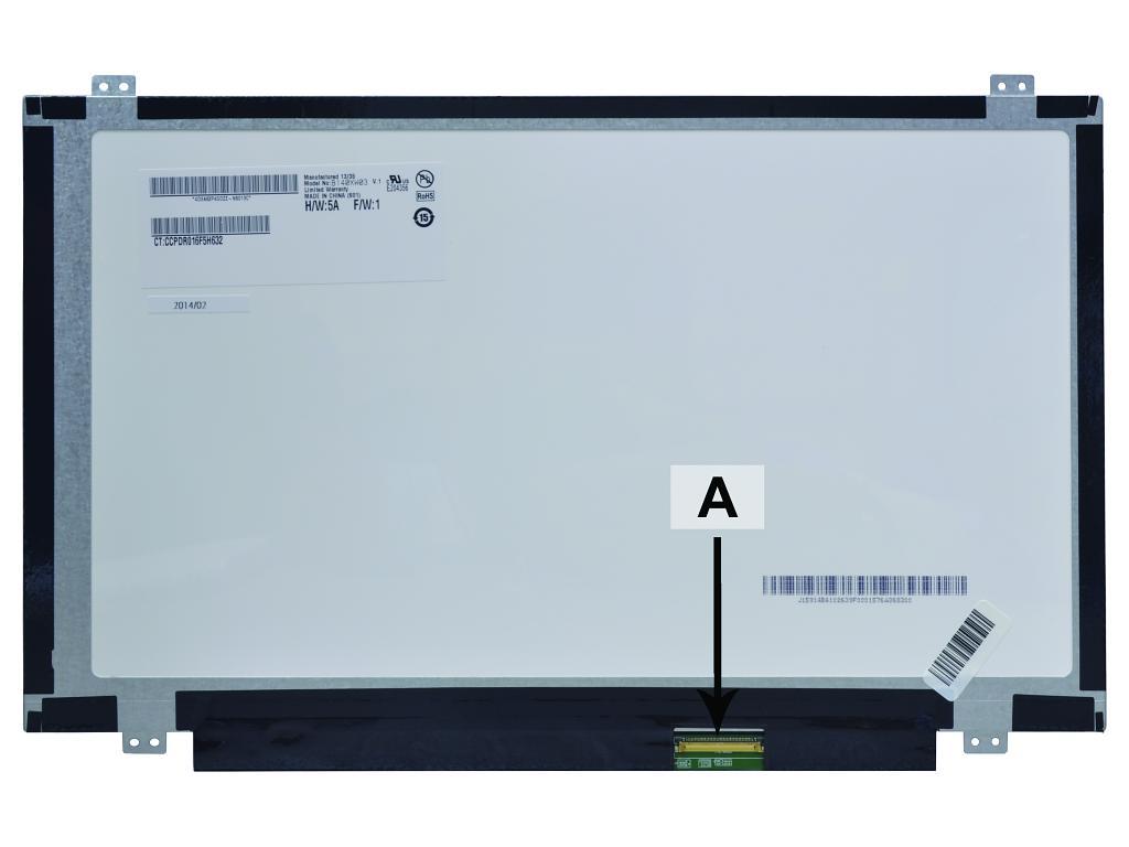 Laptop scherm 00HN822 14.0 inch LED Mat