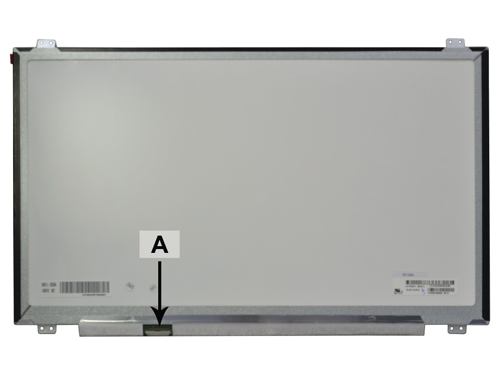 Laptop scherm 00HN885 17.3 inch LED Mat