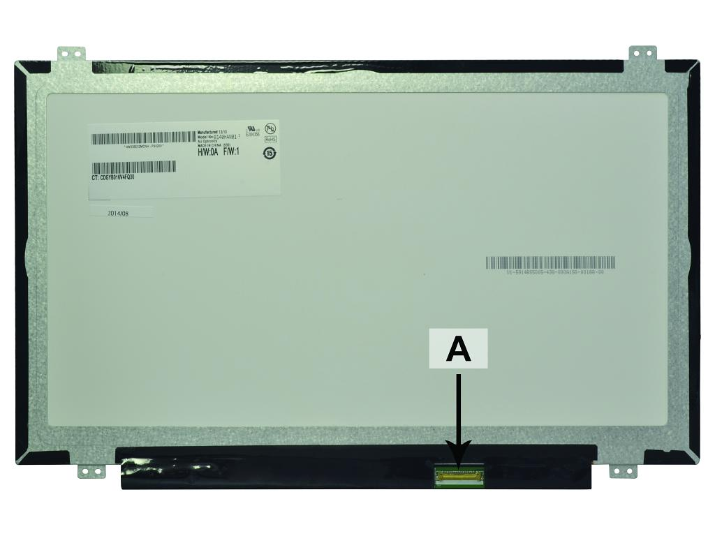 Laptop scherm 00HT622 14.0 inch LED Mat