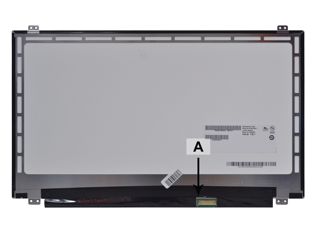 Laptop scherm 015J5 15.6 inch LED Mat