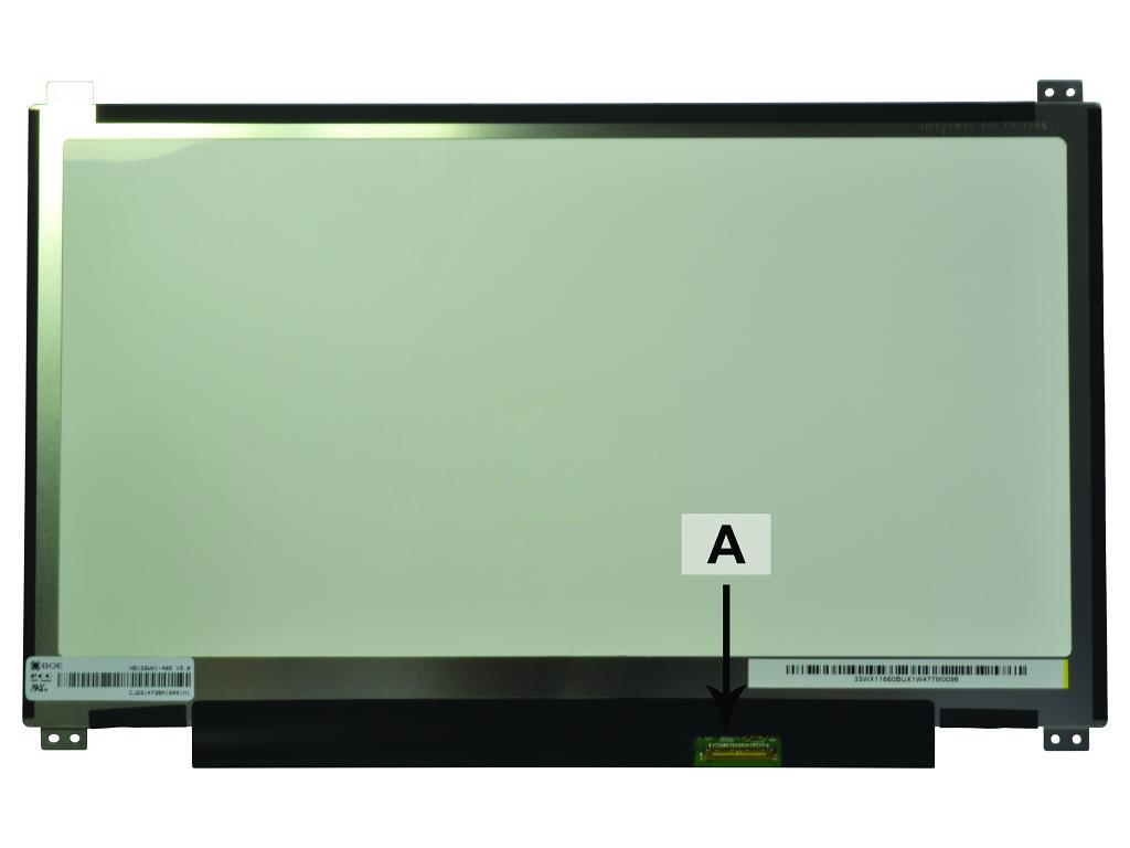 Laptop scherm 01AW149 13.3 inch LED Mat