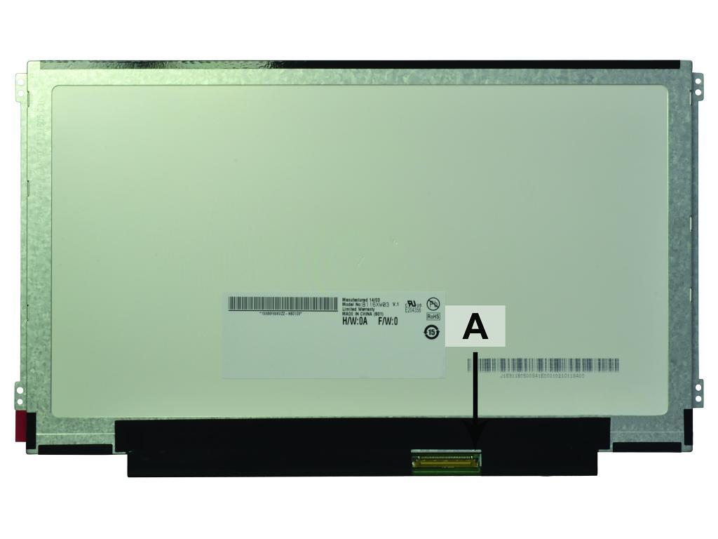 Laptop scherm 04W1596 11.6 inch LED Mat