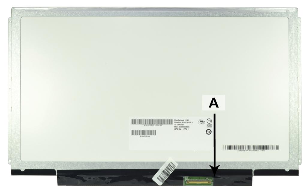 Laptop scherm 04W4003 13.3 inch LED Mat
