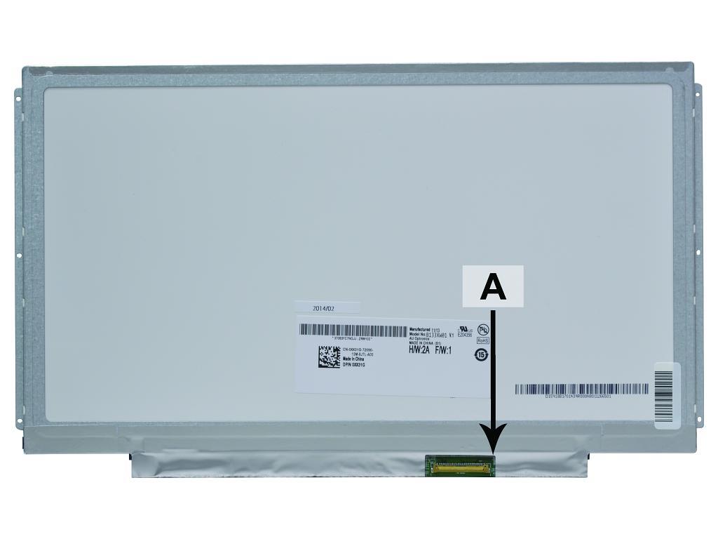 Laptop scherm 04W4004 13.3 inch LED Mat