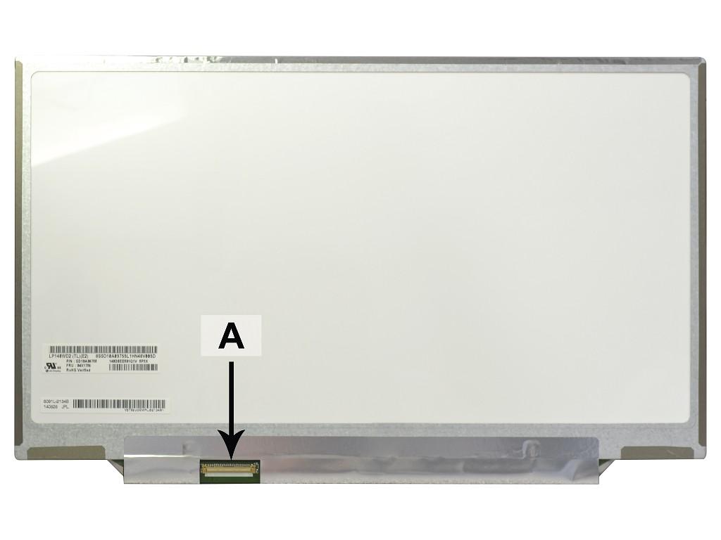 Laptop scherm 04X1756 14.1 inch LED Mat