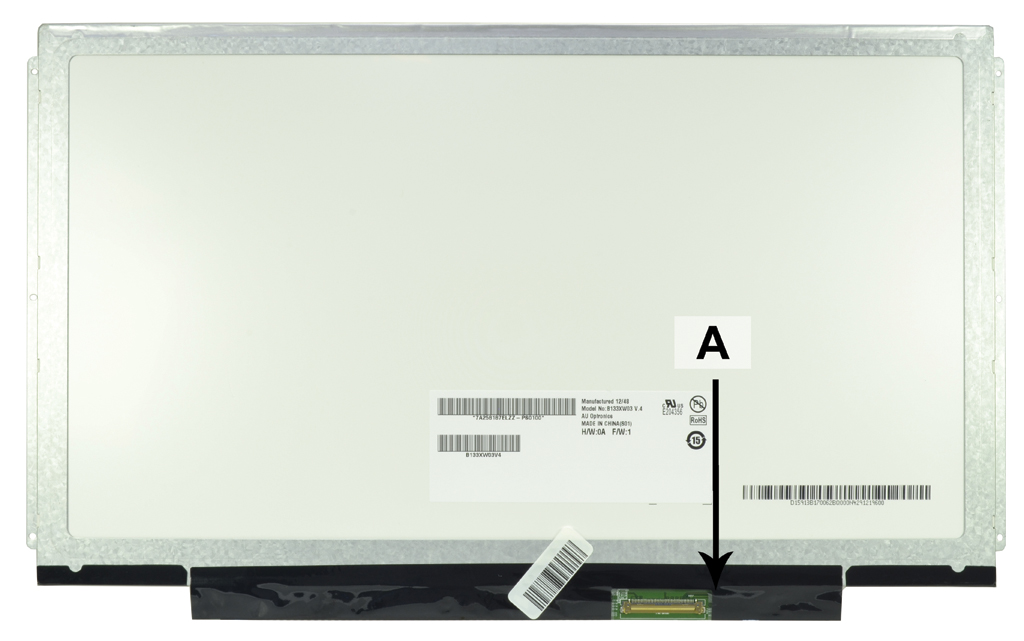 Laptop scherm 18201055 13.3 inch LED Mat