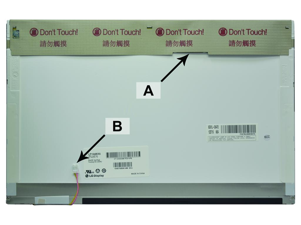 Laptop scherm 42T0333 15.4 inch CCFL1 Glossy