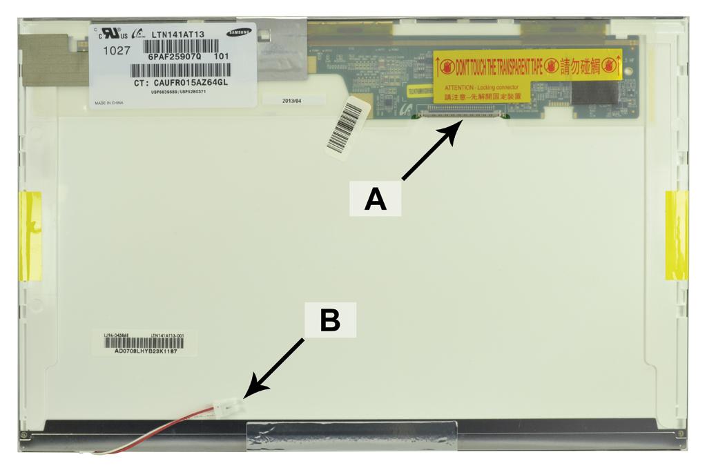 Laptop scherm 42T0339 14.1 inch CCFL1 Mat