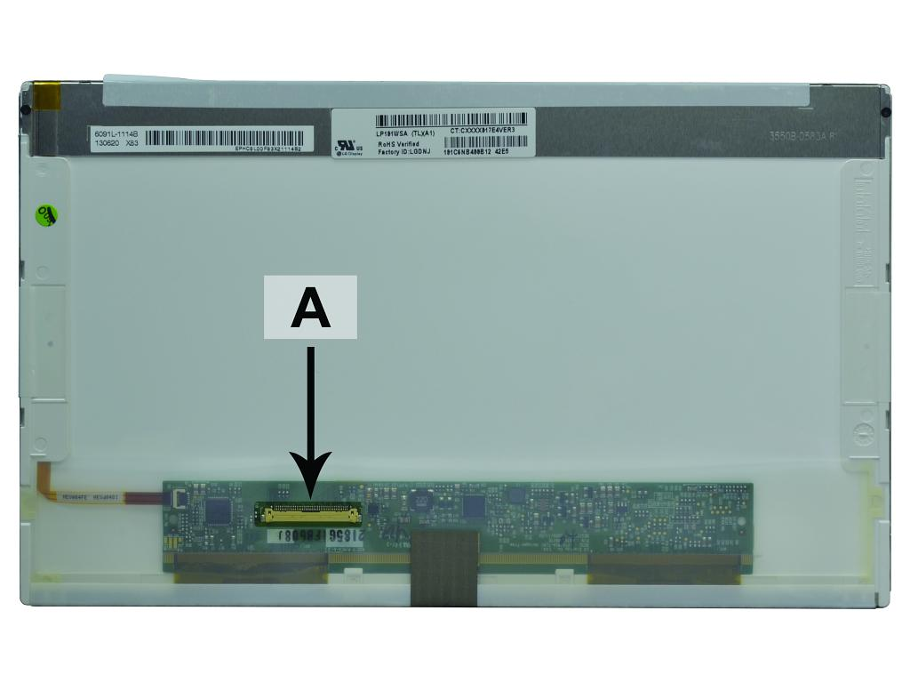 Laptop scherm B101AW03 10.1 inch LED Glossy