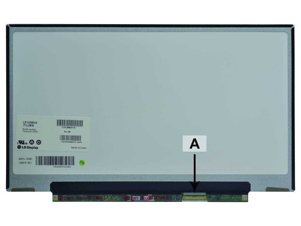 Laptop scherm G33C0006K310 13.3 inch LED Mat
