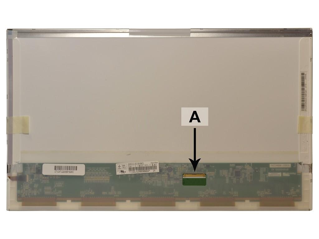 Laptop scherm HSD160PHW1 16.0 inch LED Mat