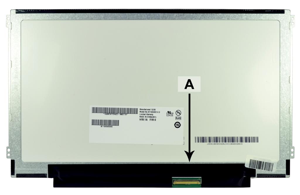 Laptop scherm N116B6-L01 11.6 inch LED Glossy