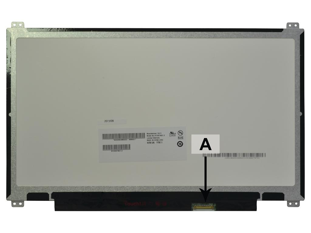Laptop scherm N133BGE-EAB 13.3 inch LED Mat