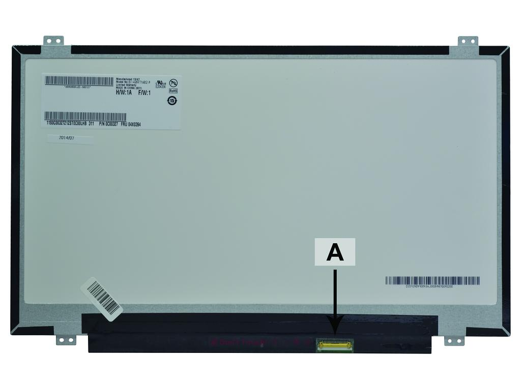 Laptop scherm N140FGE-E32 14.0 inch LED Mat