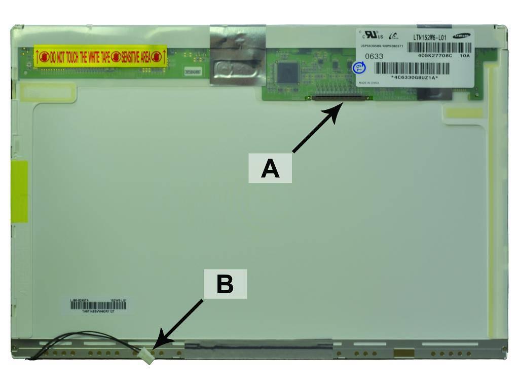 Laptop scherm SCR0576B 15.2 inch CCFL-1 Mat